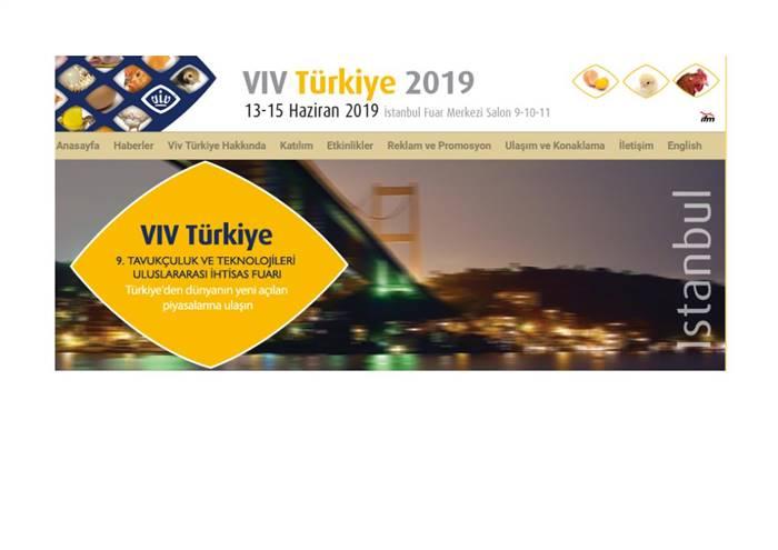 Tavukçuluk ve Teknolojileri Uluslararası İhtisas Fuarı VIV TÜRKİYE 2019