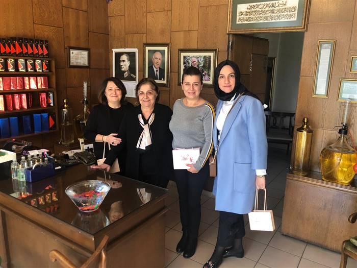 Dünya Kadın Girişimciler Gününde Anlamlı Ziyaret