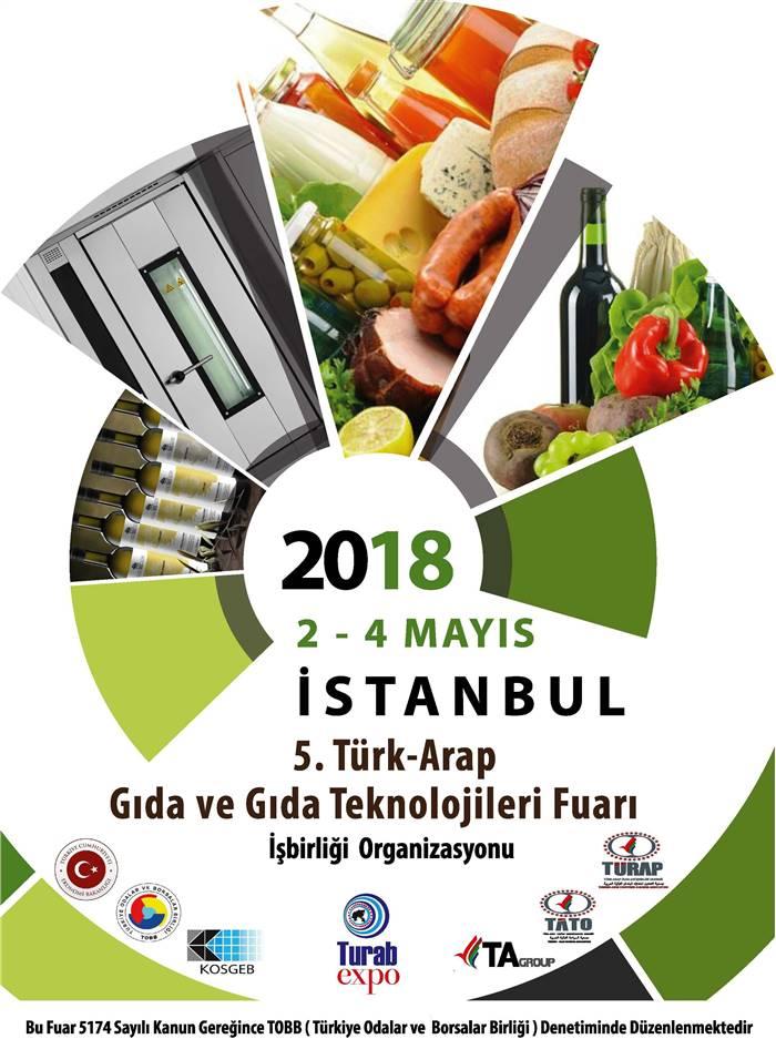 5. Türk Arap Gıda ve Gıda Teknolojileri Fuarı