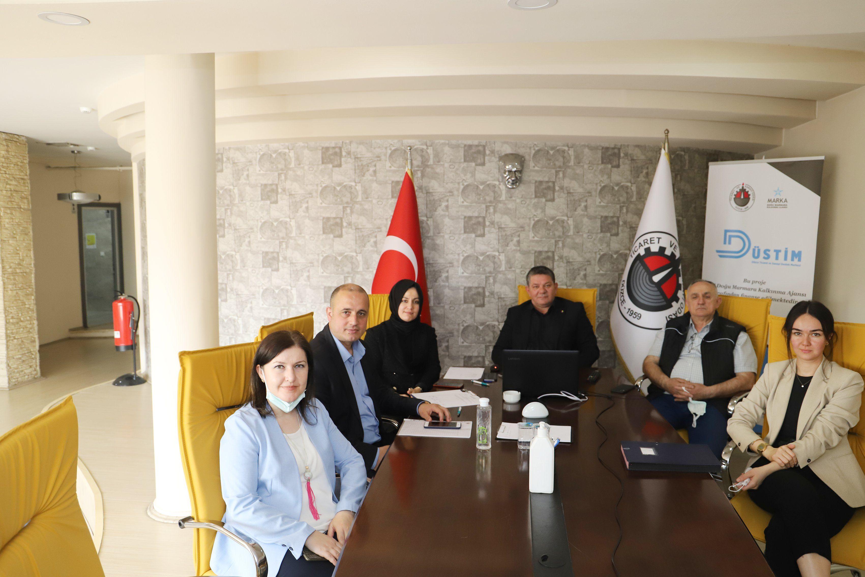 Düzce TSO Toplu Komite Toplantısı Gerçekleştirildi