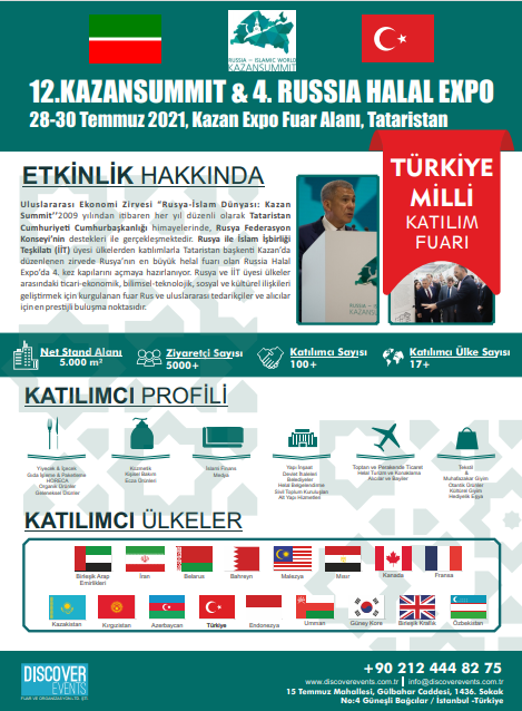 KAZAN SUMMIT HELAL EXPO 2021