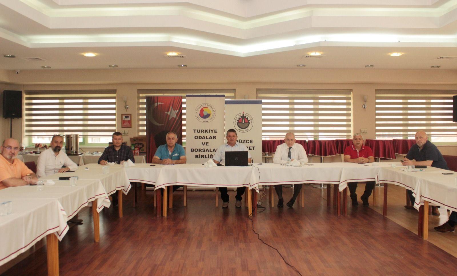 Düzce TSO Olağan Meclis Toplantısı Gerçekleştirildi