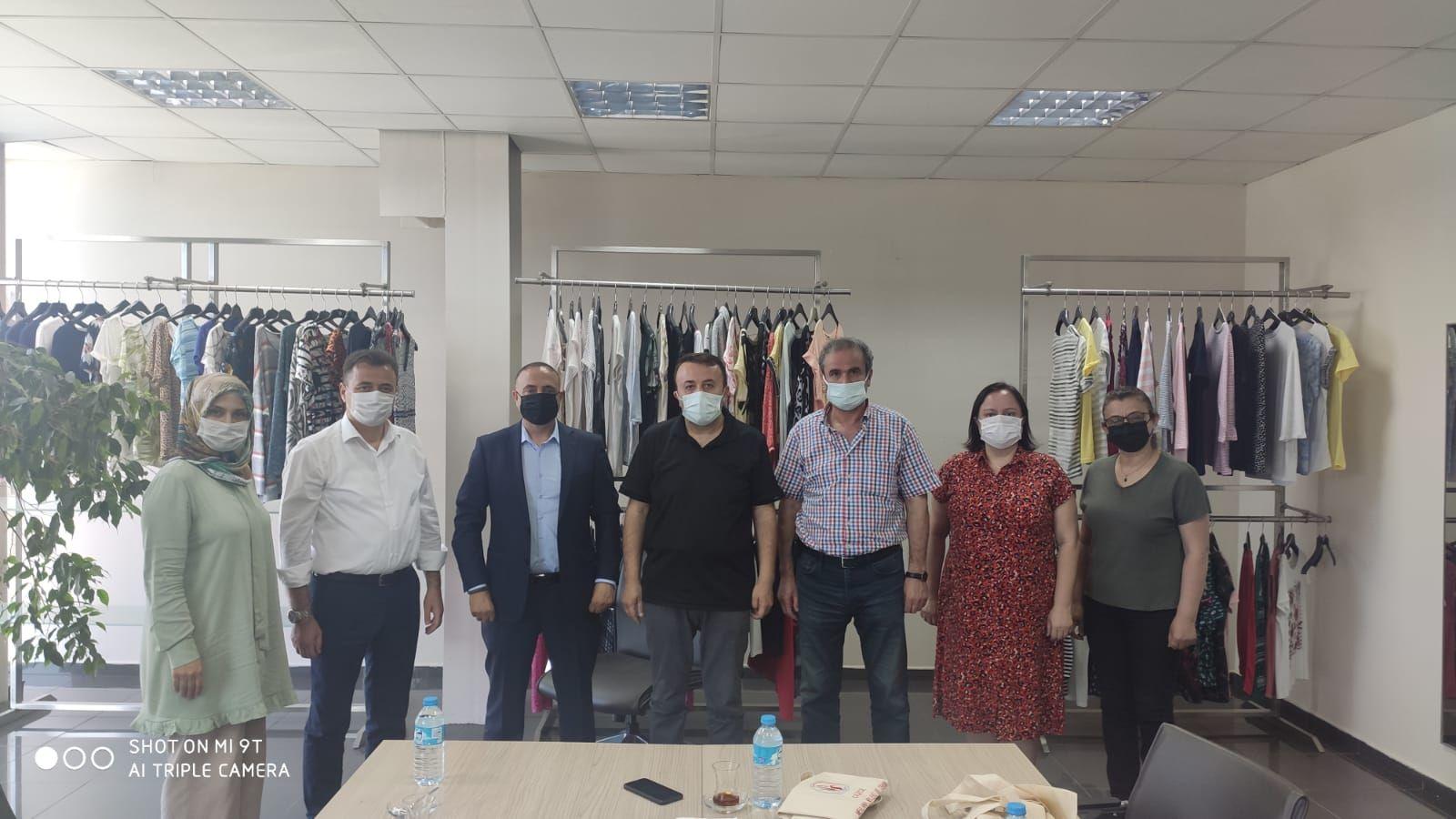 Tekstil Ürünleri Komitesi'nden Kabardin Tekstile Ziyaret