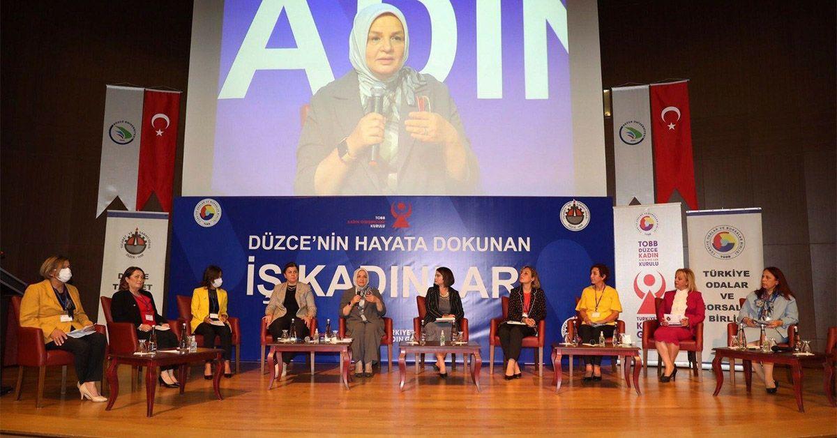 Hayata Dokunan İş Kadınları Panelde Bir Araya Geldi