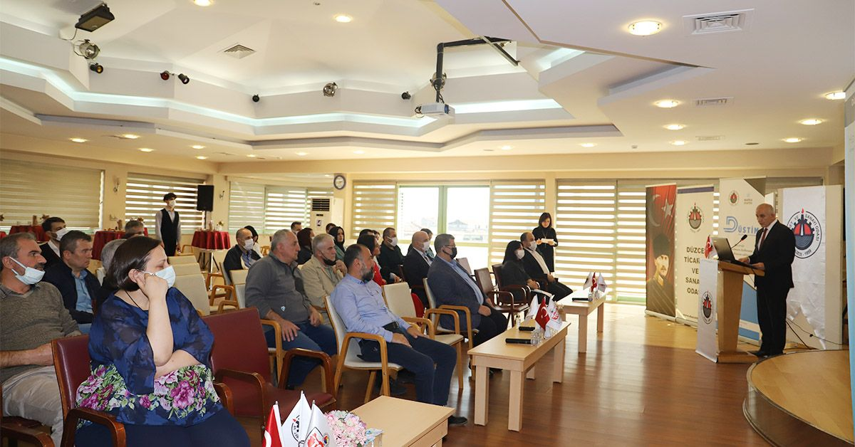 DÜSTİM (Düzce Sanayi ve Ticari Destek Merkezi Kapanış Toplantısı Gerçekleştirildi